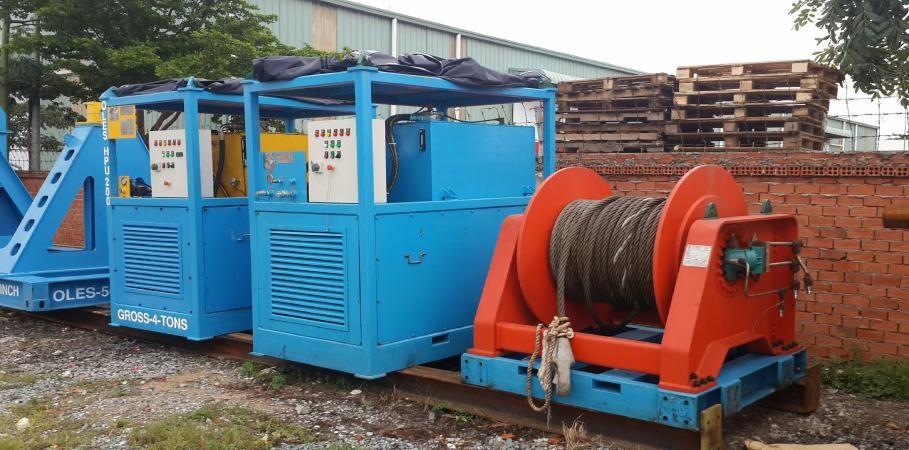 Hydraulic Winch - OLES