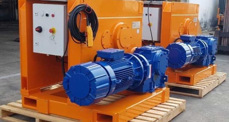OLES JSC PROVIDES 10T ELECTRIC WINCH FOR VIETSOVPETRO